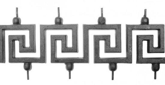 Кованый элемент -меандр