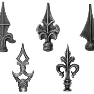 Пики - популярные кованые элементы