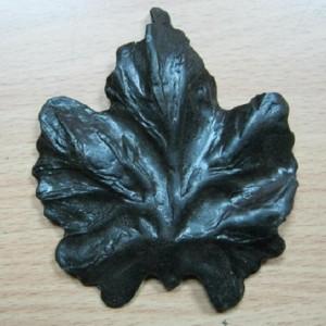 Кованый элемент виноградный лист