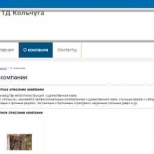 Набережные Челны, ТД Кольчуга